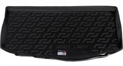 Коврик в багажник для Kia Picanto '11-17, резиновый (Lada Locker)
