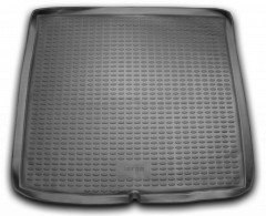 Коврик в багажник для Peugeot 407 '04-10 универсал, полиуретановый (Novline / Element) черный