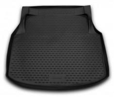 Коврик в багажник для Mercedes C-Class W204 '07-11 седан, полиуретановый (Novline / Element) черный