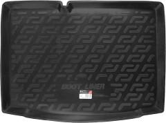 Коврик в багажник для Skoda Fabia III '15-, хетчбек, резиновый (Lada Locker)