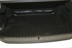 Коврик в багажник для Renault Latitude '10- (2.5L), полиуретановый (Novline / Element) черный
