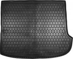 Коврик в багажник для Hyundai Santa Fe '06-10 CM , 7 мест (сложенный третий ряд), резиновый (AVTO-Gumm)