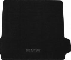 Коврик в багажник для BMW X5 E70 '07-13, текстильный черный