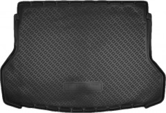 Коврик в багажник для Nissan X-Trail (T32) '14-, резино/пластиковый, черный (Nor-Plast)