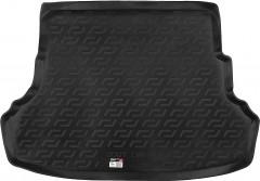 Коврик в багажник для Hyundai Accent (Solaris) '11-17 седан, резиновый, складывающееся зад. сидение (Lada Locker)