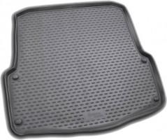 Коврик в багажник для Skoda Octavia A5 '05-13 универсал, полиуретановый (Novline / Element) черный