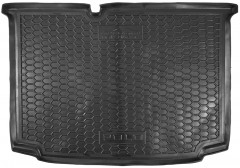 Коврик в багажник для Volkswagen Polo '09-17 хетчбек, нижний, резиновый (AVTO-Gumm)