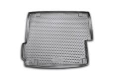 Коврик в багажник для BMW X3 F25 '10-17, полиуретановый (Novline / Element) черный
