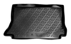 Коврик в багажник для Daewoo Lanos '98- хетчбек, резиновый (Lada Locker)