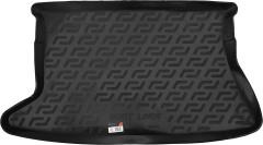 Коврик в багажник для Toyota Auris '06-12, резино/пластиковый (Lada Locker)