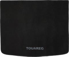 Коврик в багажник для Volkswagen Touareg '02-09, текстильный черный