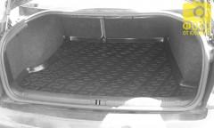 Фото 4 - Коврик в багажник для Volkswagen Passat B5 '97-05 седан, резино/пластиковый (Lada Locker)