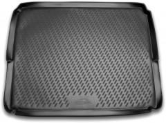 Коврик в багажник для Peugeot 3008 '09-16 - нижний, полиуретановый (Novline / Element) черный