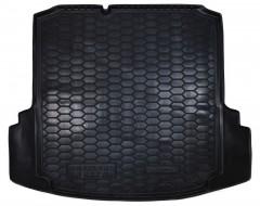 """Коврик в багажник для Volkswagen Jetta VI '10-, коврик с """"ушами"""", резиновый (AVTO-Gumm)"""
