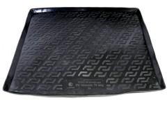 Коврик в багажник для Volkswagen Caravelle T5 long '09-, резино/пластиковый (Lada Locker)