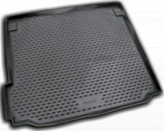 Коврик в багажник для BMW X5 E70 '07-13, полиуретановый (Novline / Element) черный