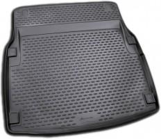 Коврик в багажник для Mercedes E-Class W212 '09-15 складывающееся зад. сидение, полиуретановый (Novline / Element) черный