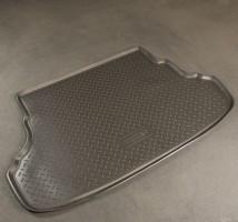 Коврик в багажник для Hyundai Accent (Solaris) '11- седан, полиуретановый (NorPlast) черный