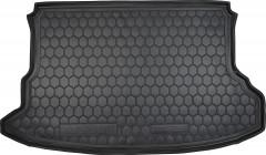 Коврик в багажник для Hyundai Tucson '03-09, резиновый (AVTO-Gumm)