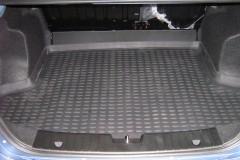 Коврик в багажник для Chevrolet Aveo '03-11 седан, полиуретановый (Novline / Element) черный
