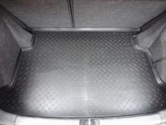 Коврик в багажник для Renault Sandero '13-, полиуретановый, черный (Nor-Plast)