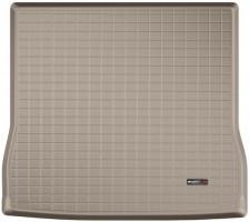 Коврик в багажник для Toyota Sequoia '08-, длинный, резиновый (WeatherTech) бежевый