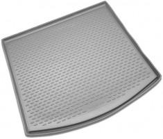 Коврик в багажник для Volkswagen Touran '03-15, полиуретановый (Novline / Element) серый