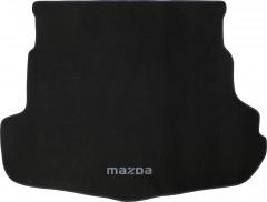 Коврик в багажник для Mazda 6 '08-12 седан, текстильный черный