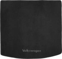 Коврик в багажник для Volkswagen Touran '03-15, текстильный черный
