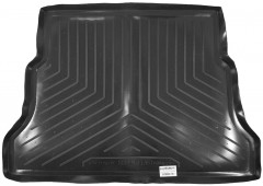 Коврик в багажник для Москвич 2141, резино/пластиковый (Norplast)