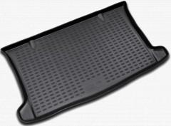 Коврик в багажник для Chevrolet Aveo '03-06 хетчбэк, полиуретановый (Novline / Element) черный