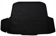 Коврик в багажник для Skoda Octavia A7 '13- универсал, полиуретановый, черный (Nor-Plast)