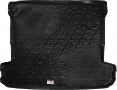 Коврик в багажник для Mitsubishi Pajero Wagon 4 (IV) '07-, резино/пластиковый (Lada Locker)