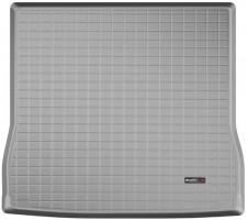 Коврик в багажник для Toyota Sequoia '08-, длинный, резиновый (WeatherTech) серый