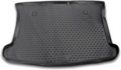 Коврик в багажник для Kia Rio '11-15 хетчбэк, полиуретановый (Novline / Element) черный