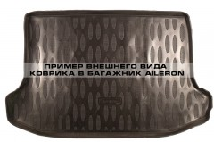 Коврик в багажник для Kia Picanto '11-17, полиуретановый (Aileron)