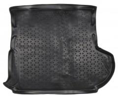 Коврик в багажник для Mitsubishi Outlander XL '07-12 (c сабвуфером), полиуретановый (Novline / Element) черный EXP.RSA-35.14.S13