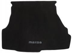 Коврик в багажник для Mazda 626 '97-02 (GF), текстильный черный