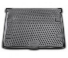 Коврик в багажник для Jeep Liberty '08-13, полиуретановый (Novline / Element) черный