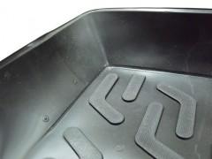 Фото 4 - Коврик в багажник для Kia Cerato '13-17 седан, с полноразмерным зап. колесом, резино/пластиковый (Lada Locker)