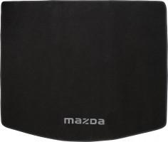 Коврик в багажник для Mazda CX-5 '12-17, текстильный черный