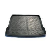 Коврик в багажник для Citroen C5 '01-07 седан, резино/пластиковый (Lada Locker)