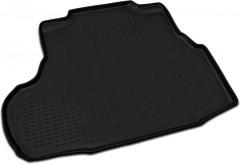 Коврик в багажник для Chevrolet Epica '07-12, полиуретановый (Novline / Element) черный