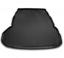 Коврик в багажник для Hyundai Grandeur '12-, полиуретановый (Novline / Element) черный