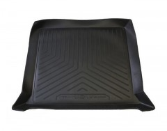 Коврик в багажник для UAZ (УАЗ) 3163 Patriot '05-, полиуретановый (NorPlast) черный