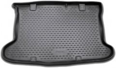 Коврик в багажник для Hyundai Accent (Solaris) '11-17 хетчбэк, полиуретановый (Novline / Element) черный
