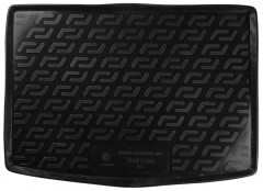Коврик в багажник для Seat Leon '05-12, резино/пластиковый (Lada Locker)