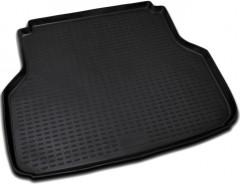 Фото 1 - Коврик в багажник для Chevrolet Lacetti '03-12 седан, полиуретановый (Novline) черный