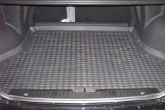 Фото 2 - Коврик в багажник для Chevrolet Lacetti '03-12 седан, полиуретановый (Novline) черный