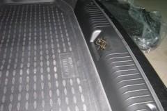 Фото 4 - Коврик в багажник для Chevrolet Lacetti '03-12 седан, полиуретановый (Novline) черный
